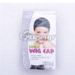 1 pezzi nero Stretchable elastico dei capelli netto Snood Cap parrucca