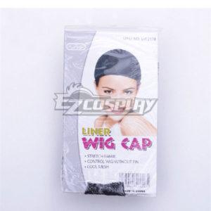 Costumi moda Ezcosplay 1 pezzi nero Stretchable elastico dei capelli netto Snood Cap parrucca