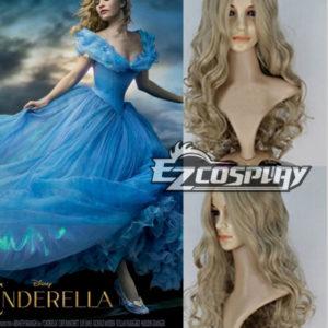Costumi moda Ezcosplay 2015 i più nuovi film Ella Cenerentola Cosplay Principessa