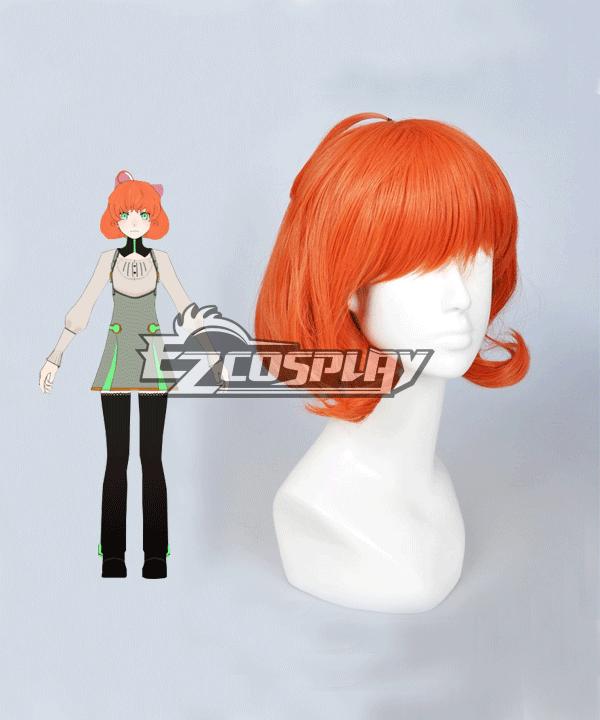 Costumi moda Ezcosplay RWBY Penny Polendina Atlas arancione parrucca di Cosplay dei capelli