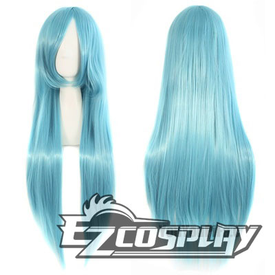 Costumi Fashion Ezcosplay parrucca Touken Ranbu Ice Blue Cosplay