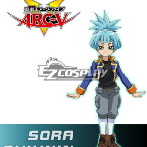 Costumi Fashion Ezcosplay Yu-Gi-Oh! Sora costume cosplay Shiunin Yugioh ARC-V