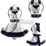 White Fashion Customade domestica Grembiule Cosplay
