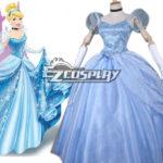 Disney Ainimation fumetto Cenerentola principessa Costume di Cosplay Cenerentola