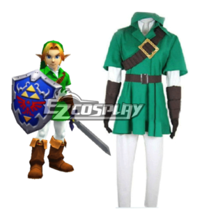 Costumi moda Ezcosplay The Legend of Zelda Zeruda no Densetsu costume cosplay link