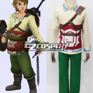 Costumi Moda Ezcosplay The Legend of Zelda Skyward Sword Skyloft link Cosplay