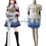 Fairy Tail Elza costume cosplay Scarlatto
