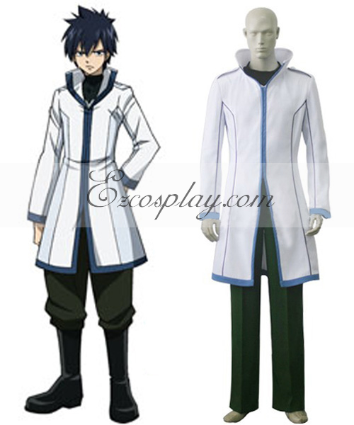 Costumi Fashion Ezcosplay Fairy Tail Grey costume cosplay Fullbuster