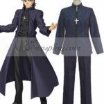 Kirei costume cosplay Kotomine Zero Destino