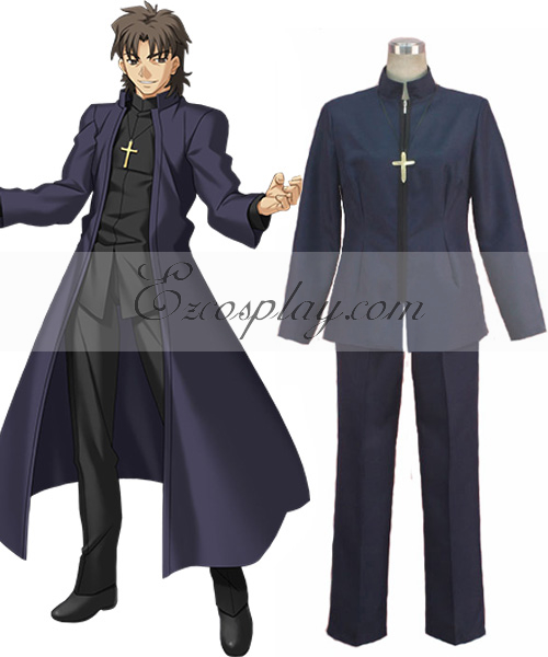 Costumi Fashion Ezcosplay Kirei costume cosplay Kotomine Zero Destino
