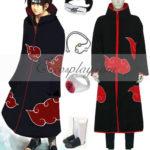 Naruto Akatsuki Itachi Uchiha costume cosplay