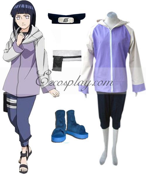 Costumi Fashion Ezcosplay Naruto Shippuden Hinata Hyuga costume cosplay