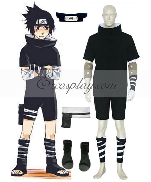Costumi Fashion Ezcosplay Naruto Sasuke Uchiha primo costume cosplay
