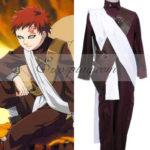 Naruto Gaara 2 ° Set costume cosplay