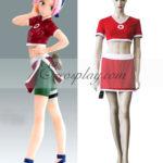 Naruto Sakura Haruno secondo costume cosplay