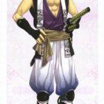 Hakuouki Nagakura costume Cosplay breve Shinpachi