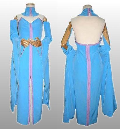 Costumi moda Ezcosplay Dress Cosplay Lacus Clyne da EGS0004 Gundam Seed