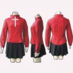 Rin Tosaka costume da Fate Stay Night EFS0005