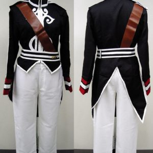 Costumi Moda Ezcosplay costume cosplay Luke Black da Tales of the Abyss ETA0001