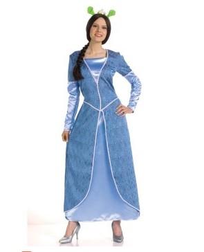 Costumi moda Ezcosplay Shrek Terzo-Deluxe principessa Fiona costume adulto ESR0004