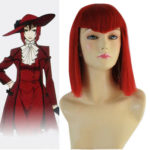 Cosplay Red Black Butler Angelina