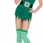 Christams Verde Sesso costume cosplay Dress