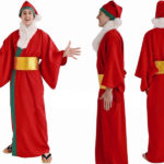 Babbo Natale Magico Costume Cospaly Natale