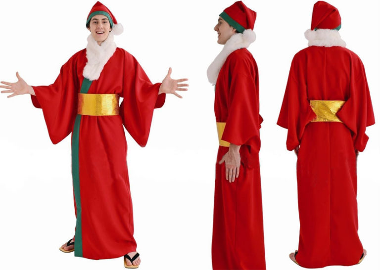 Costumi Fashion Ezcosplay Babbo Natale Magico Costume Cospaly Natale