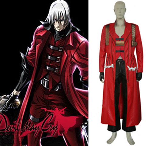 Costumi Fashion Ezcosplay Devil May Cry costume cosplay Dante