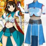 Haruhi Suzumiya Haruhi Suzumiya Battaglia costume cosplay Dress