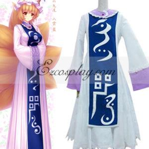 Costumi moda Ezcosplay Touhou progetto Kyuubi Kitsune Yakumo Ran costume cosplay