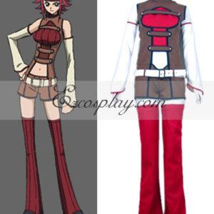 Costumi moda Ezcosplay Code Geass Lelouch della ribellione Kallen Stadtfeld Cosplay