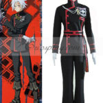 D Gray-man Allen Walker 3 ° costume cosplay Uniform