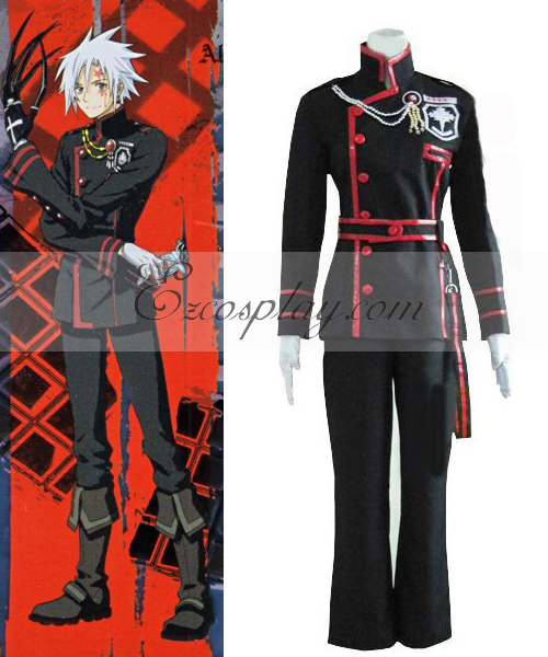 Costumi moda Ezcosplay D Gray-man Allen Walker 3 ° costume cosplay Uniform