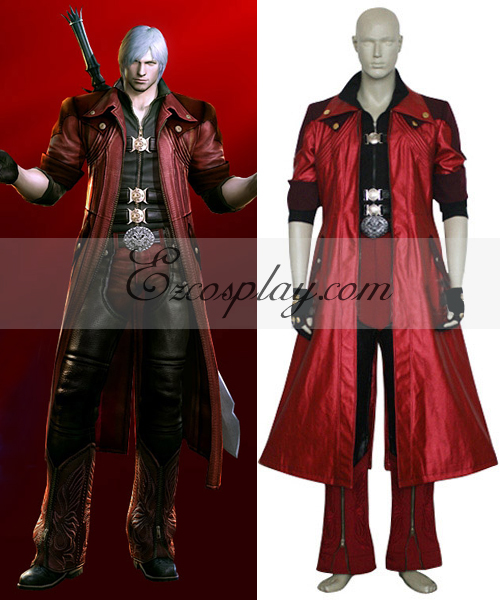 Costumi moda Ezcosplay Devil May Cry 4 Dante costume-Size Cosplay Grande