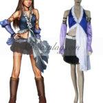 Final Fantasy X-2 Yuna Lenne canto Cosplay