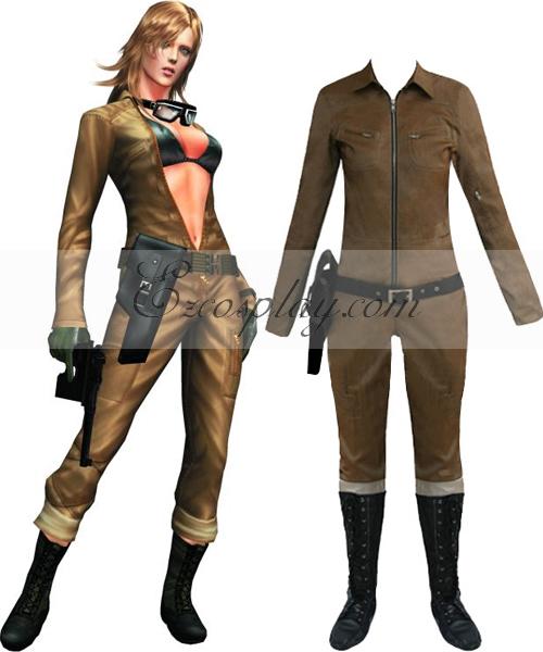 Costumi moda Ezcosplay Metal Gear Solid 3 Snake Eater Tatyana costume cosplay Eva