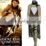 Resident Evil Afterlife 3 Film costume cosplay Alice