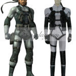Metal Gear Solid 2 Costume Solid Snake Cosplay
