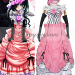 rosa costume cosplay abito da Black Butler Ciel Phantomhive