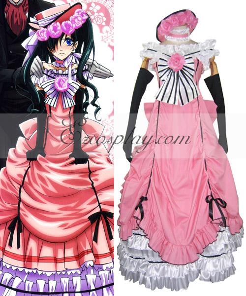 Costumi moda Ezcosplay rosa costume cosplay abito da Black Butler Ciel Phantomhive