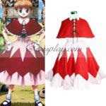 costume cosplay Hunter X Hunter Bisuke Red Dress
