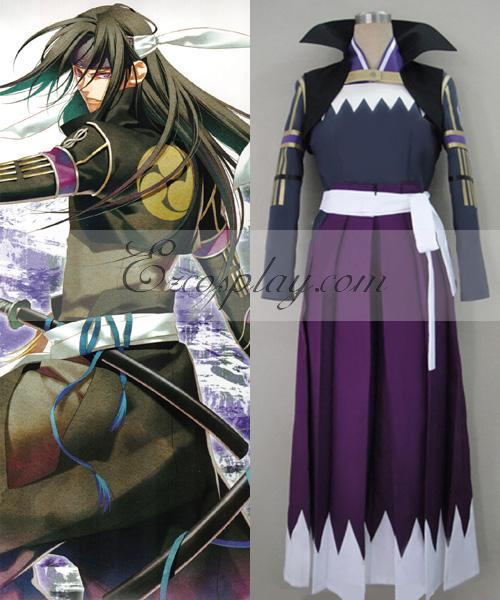 Costumi Fashion Ezcosplay Hakuouki Hijikata Toshizo lotta costume cosplay