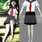Hell Girl Enma Ai White costume cosplay Uniform
