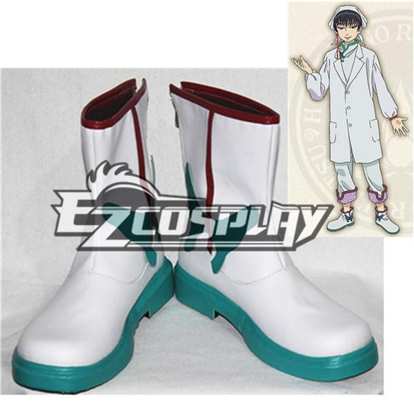 Costumi moda Ezcosplay Calzature Hoozuki No Reitetsu Hakutaku Cosplay