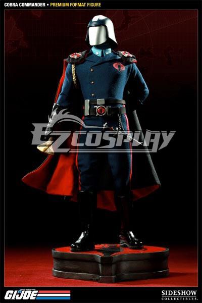 Costumes Fashion Ezcosplay G.I. Joe serie comandante Cobra cosplay Accessori