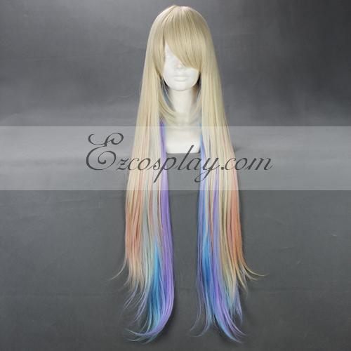 Costumi moda Ezcosplay Cosplay Giappone Harajuku Serie Arcobaleno Wig-RL012