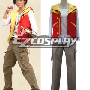 Costumes Fashion Ezcosplay Kyoryuger costume cosplay KING