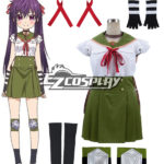 Scuola-Live! Gakko gurashi! Abitano a scuola! Costume cosplay uniforme Kurumi Ebisuzawa Scuola