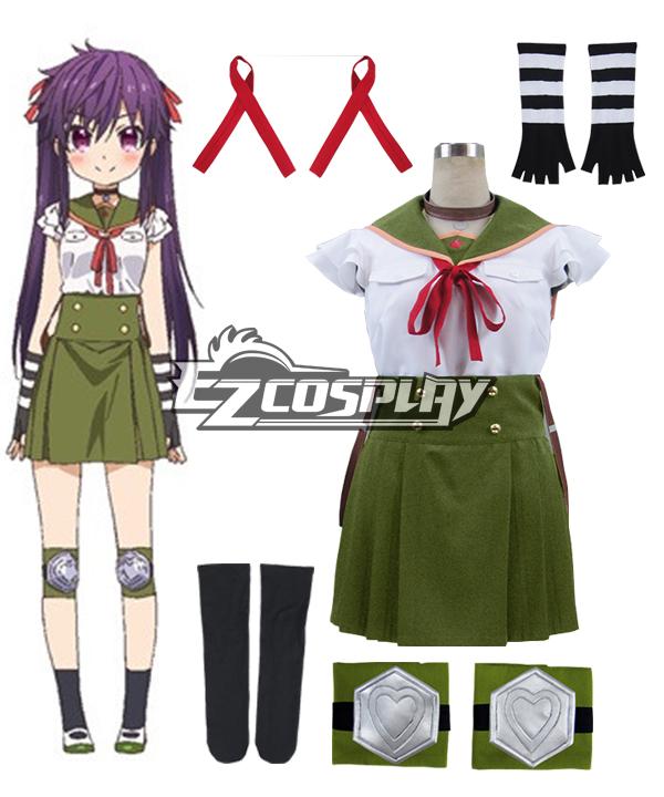 Costumes Fashion Ezcosplay Scuola-Live! Gakko gurashi! Abitano a scuola! Costume cosplay uniforme Kurumi Ebisuzawa Scuola